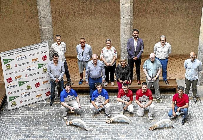 e-Remonte Beti Euskal Jai enpresa berria aurkeztu dute Iruñean