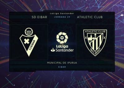 """[EiTB] Eibar 2-2 Athletic, partidako gol guztiak (2'39"""")"""