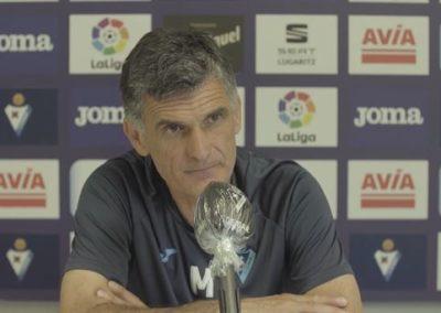 """[EiTB] Mendilibar: """"Athleticek baino gehiago dugu jokoan, kontzentratuta irten behar gara"""" (5'00"""")"""