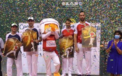 Donibane Lohizuneko Grand Slama irabazi dute Olharanek eta Lopezek