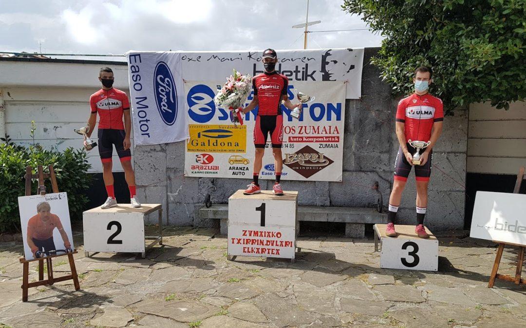 Unai Aznarrek irabazi du aurtengo Zumaiako txirrindularitza saria