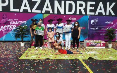 Reyes Azkoitiaren taldeak irabazi du Plazandreak txapelketa