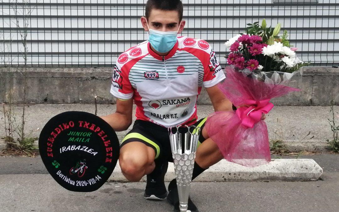 Igor Arrietak irabazi du Euskadiko Junior mailako Txapelketa