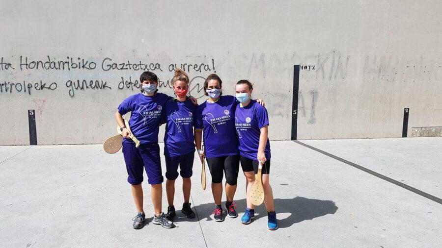 Janire San Sebastianek eta Naiara Fernandezek irabazi dute emakumeen II. pala txapelketa