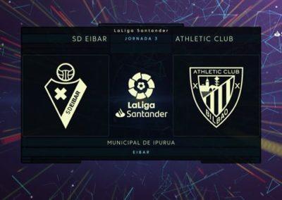"""[EiTB] Eibar 1–2 Athletic partidako laburpena eta gol guztiak  (1'59"""")"""