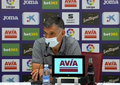 """[EiTB] Jose Luis Mendilibar: """"VARa bizkorragoa izan behar da""""  (5'19"""")"""