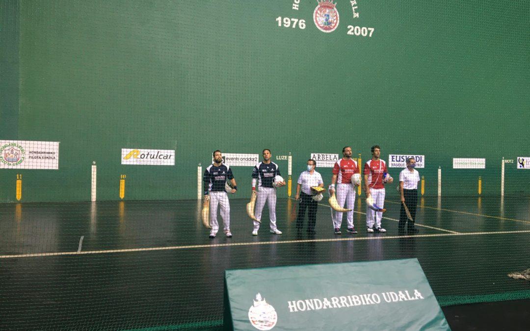 Hondarribiako Grand Slam Txapelketako finalerdiak jokatu dira