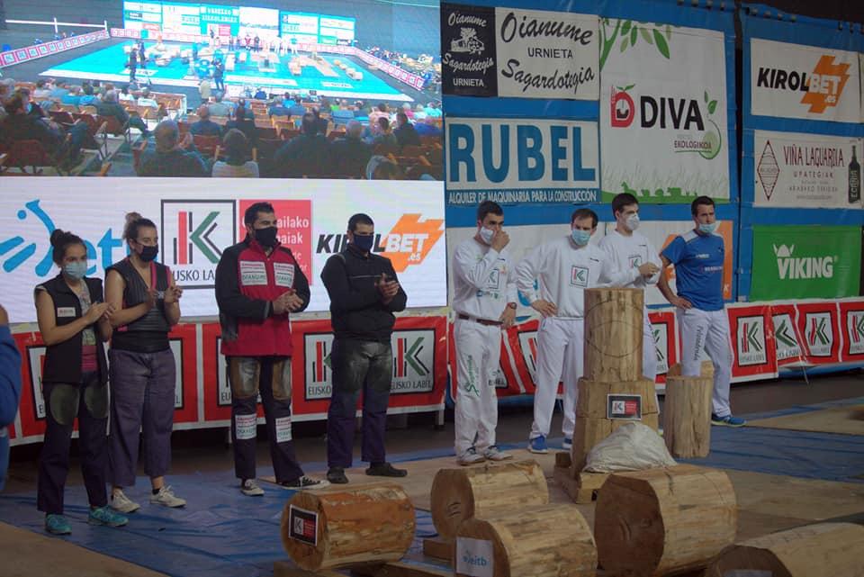 Julen Alberdik irabazi du Urrezko Aizkolari Txapeldunen Liga