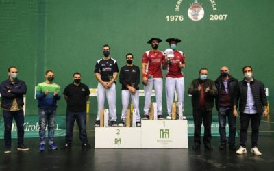 Goikoetxeak eta Irastorzak irabazi dute Grand Slam txapelketa
