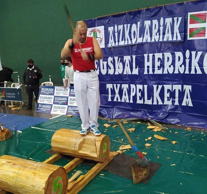 Abiatu da Euskal Herriko hirugarren mailako aizkora txapelketa