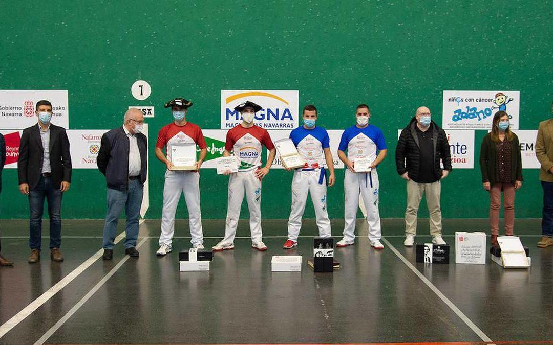 Aldabek eta Ionek irabazi dute Nafarroako XV. Erremonte txapelketa