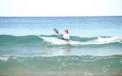 Dzanga Kayak-Surf Txapelketa lehiatu zen larunbatean Mendexan