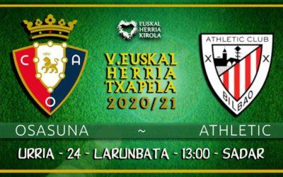 Osasuna-Athletic, urriaren 24an