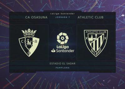 """[EiTB] Osasuna 1–0 Athletic partidako laburpena eta gola (1'31"""")"""