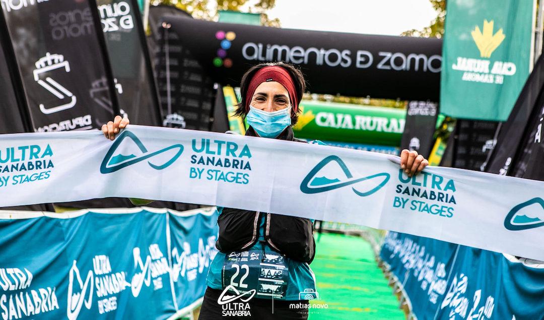 Oihana Kortazarrek hiru eguneko Sanabria Trail proba irabazi du