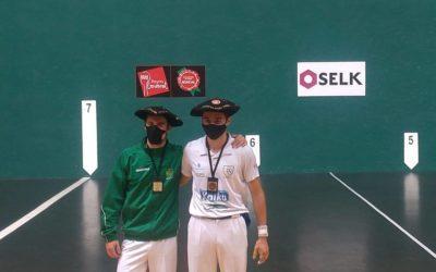 Josu Irurita eta Javier Oskoz garaile Nafarroako buruz buruko pilota txapelketan