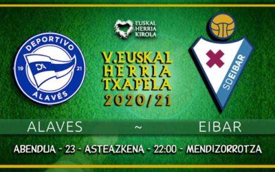 Alaves – Eibar, abenduaren 23an