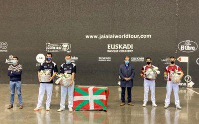 Beaskoetxeak eta Manzik irabazi dute Gernika Grand Slam Txapelketa