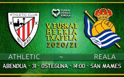 Athletic – Reala, abenduaren 31n