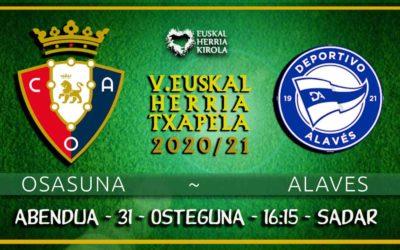 Osasuna – Alaves, abenduaren 31n