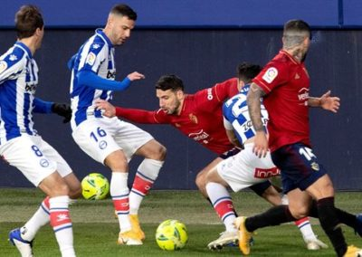 """[EiTB] Osasuna 1–1 Alaves partidaren laburpena eta golak (2'20"""")"""