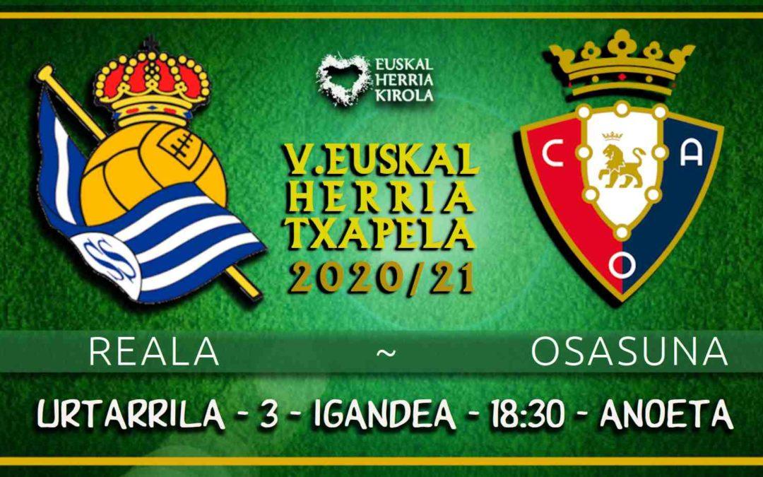 Reala – Osasuna, urtarrilaren 3an