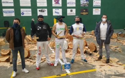 Nafarroako herri kirol txapelketak jokatu dira Lekunberrin