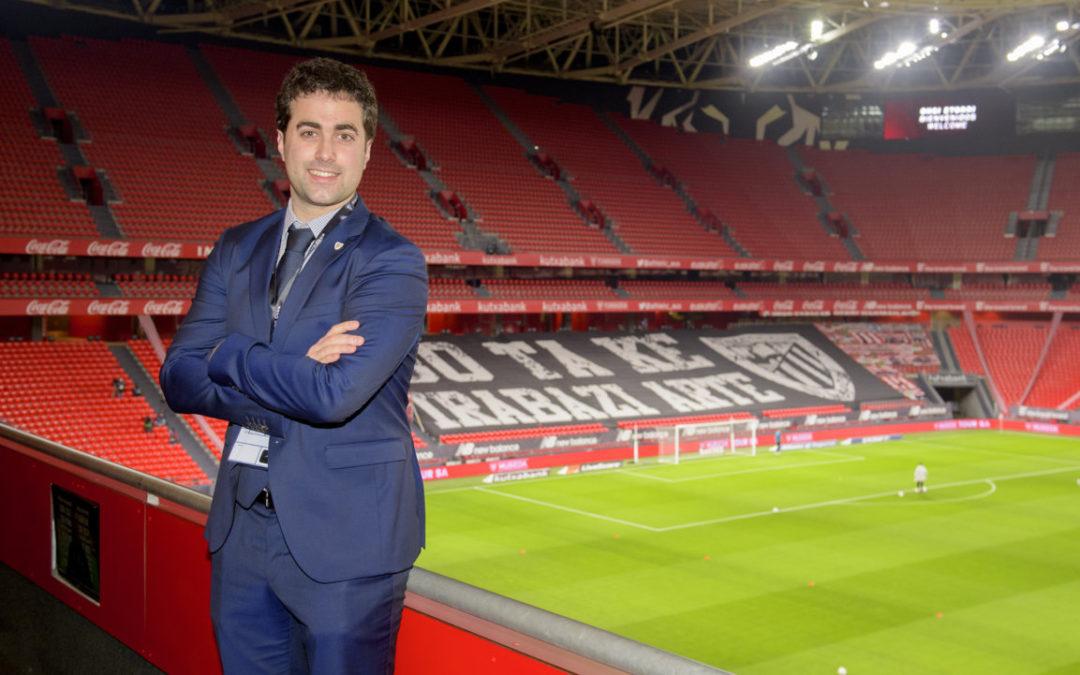Iker Goñi: «Euskararen eta euskal selekzioaren aldeko jarrera agertu izan du Athleticek tradizionalki»