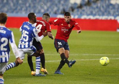 """[EiTB] Real Sociedad 1–1 Osasuna partidako laburpena eta gol guztiak (2'00"""")"""