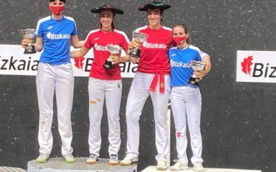 Leire Garaik eta Maite Ruiz de Larramendik irabazi dute Bizkaia Txapelketa