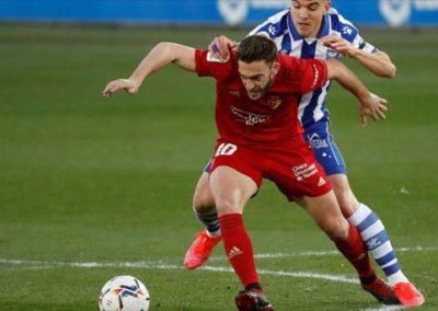"""[EiTB] Alaves 0–1 Osasuna partidako laburpena eta gola (1'52"""")"""