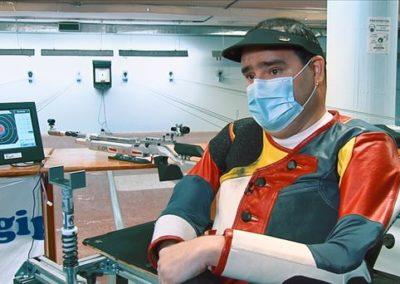 """[EiTB/Helmuga] Fernando Michelena, kirolaria oztopo guztien gainetik (12'56"""")"""