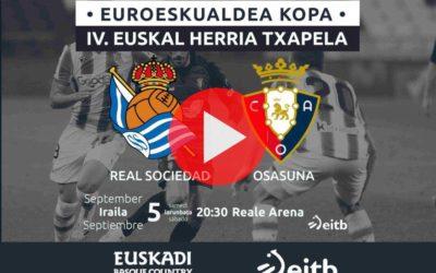 IV. Euskal Herria Txapelako finala, zuzenean