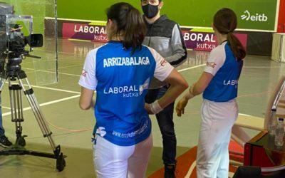 Iera Agirre-Maite Ruiz de Larramendi eta Olatz Arrizabalaga-Naroa Agirre, finalera