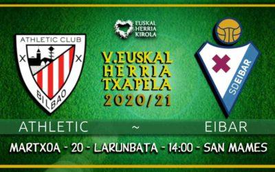Athletic-Eibar, martxoaren 20an