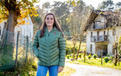 """Sophie Istillart: """"Ederra izan da Euskal Selekzioarekin jokatzea"""""""