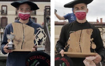 Jabi Goitia eta Maddi Marquet nagusitu dira Oñatiko duatloian