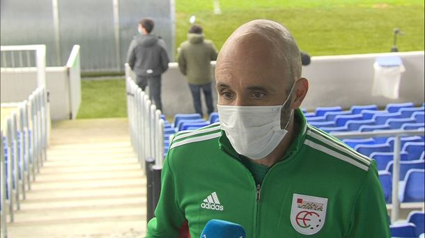 """[EiTB] Iñigo Juaristi: """"Hemengo futbola zelan dagoen ikusi da"""" (1'11"""")"""