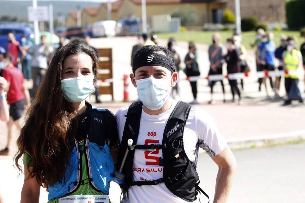 Alvaro Ramos eta Maria Ordoñezek irabazi dute Nafarroako Trail Running Txapelketa