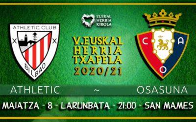 Athletic-Osasuna, maiatzaren 8an