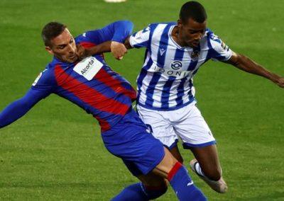 """[EiTB] Eibar 0–1 Real Sociedad partidako laburpena eta gola (1'57"""")"""