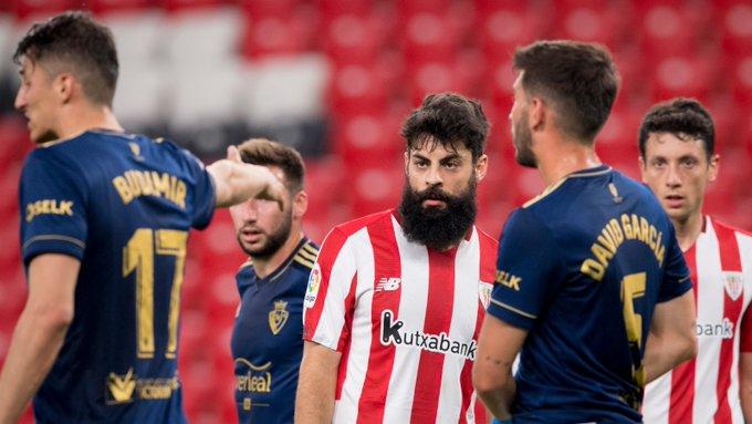 Athletic 2-2 Osasuna