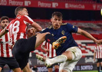 """[EiTB] Athletic 2–2 Osasuna partidako laburpena eta gol guztiak (2'04"""")"""