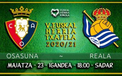 Osasuna-Reala, maiatzaren 23an