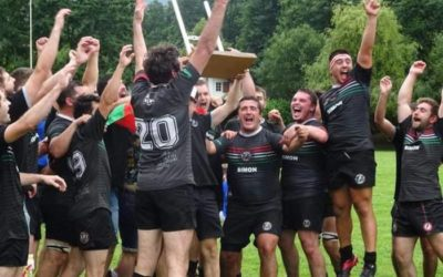 Euskal Liga irabazi du Sarako Izarra Rugby Taldeak
