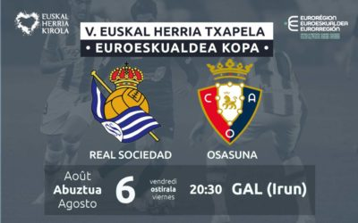 Abuztuaren 6an jokatuko da V. Euskal Herria Txapelaren finala