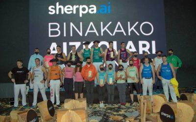 Sherpa.ai Binakako Txapelketako finalak jokatu ziren Azpeitian