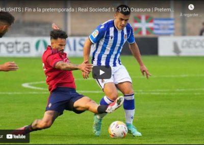 [RS TV] LABURPENA | Real Sociedad 1 – 3 CA Osasuna (4:16)