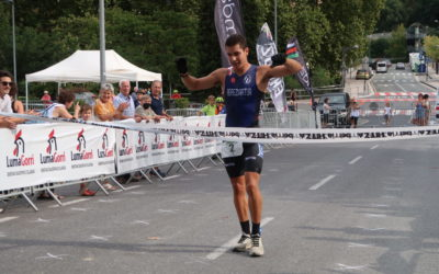 Paul Bereziartua eta Enara Oronozek irabazi dute Igartzako Mendi Duatloia