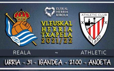 Reala-Athletic, urriaren 31n